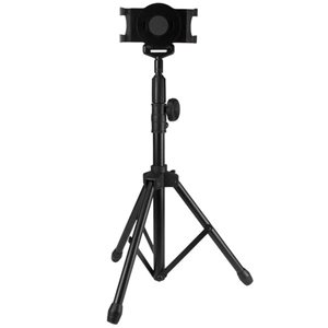 Use your tablet hands-free with this portable and adjustable tripod