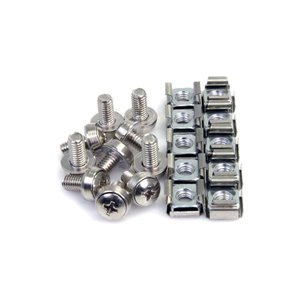 Mount server, telecom and A/V equipment with these high quality mounting screws and nuts