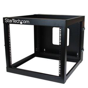 StarTech.com 8U 22in Depth Hinged Open Frame Wall Mount Server Rack