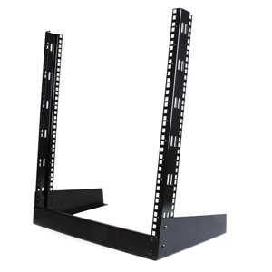 Mount smaller rack mountable devices right at your desk with this lightweight 12U 2 post desktop rack
