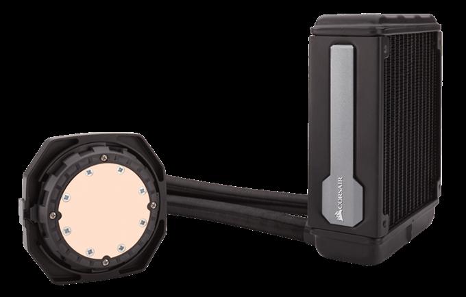 Das flexible, leistungsstarke 120 mm CPU-Flüssigkeitskühlsystem für Hochleistungs-PCs.