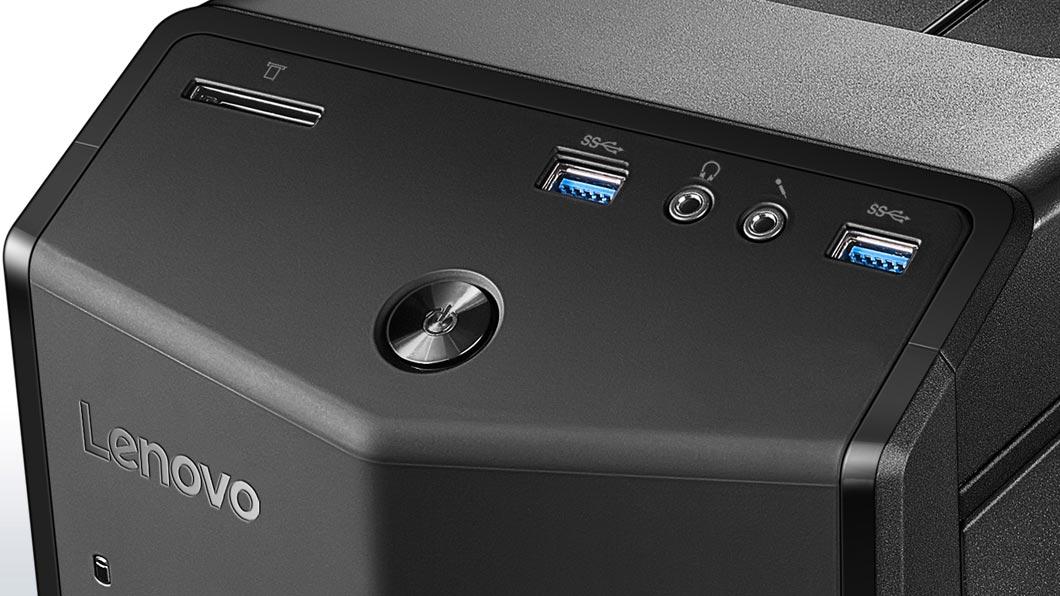 PCM   Lenovo, 710-25ISH 90FB - Tower - 1 x Core i5 6400   2.7 GHz - RAM 8  GB - Hybrid Drive 1 TB (8 GB) - DVD-Writer - GF GT 730 - GigE - WLAN   Bluetooth ... 44f3ae77c30b