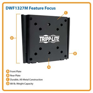 "Ideal For 13""-27"" Displays – This Fixed Wall Mount is Simple to Install & Guaranteed to Last!"