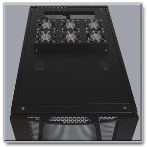 Roof-Mounted 230V Fan Panel Optimizes SmartRack® Enclosure Cabinet Cooling Efficiency