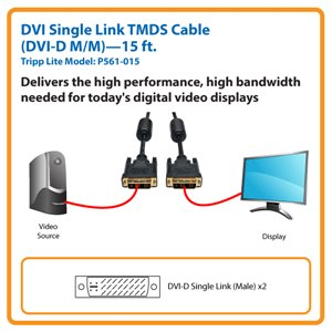 Connect High-Resolution DVI Displays Up to 15-ft. Away from the Source