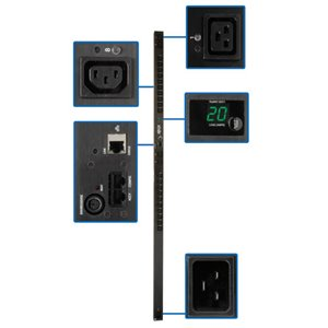 Metered Power Distribution with Advanced Network Monitoring Capabilities
