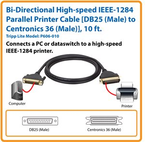 Connect Your PC or Dataswitch to a High-speed IEEE-1284 Printer