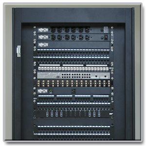 1U, 16-Port Fiber Patch Panel (SC/SC)