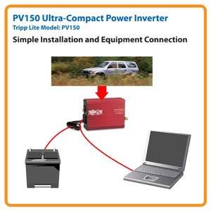Ultra Compact 150 Watt Power Inverter/Charger