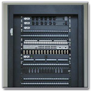 1U, 16-Port Fiber Patch Panel (ST/ST)
