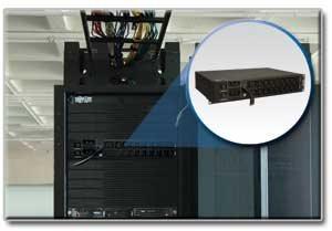PDUMH30HV Horizontal 2U Metered Rack PDU Supports 30A Maximum Capacity at 208/240V