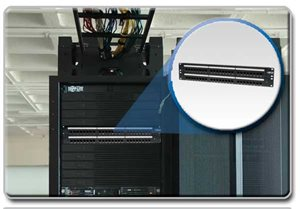 Easily Patch Cables for Improved Performance and Efficiency with This 48-Port Cat5 Patch Panel