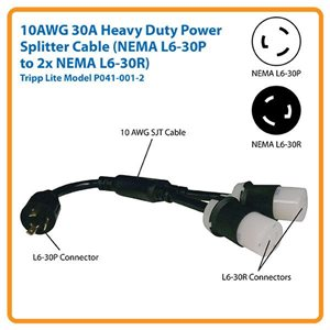 The Smart Solution for Powering Two High-Density Devices with One L6-30R Outlet