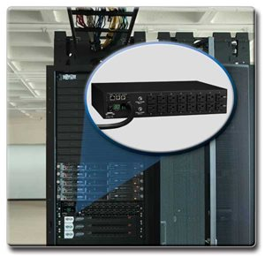 Metered Power Distribution with Advanced Network Control and Monitoring