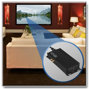 2-Outlet Isobar® A/V Power Conditioner for Professional Applications