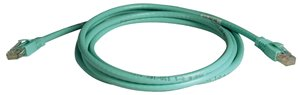 25 ft. Augmented Cat6 (Cat6a) Snagless 10G Certified Patch Cable (Aqua)