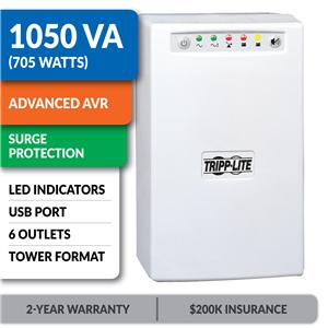 OMNISMART1050 OmniSmart® 120V 1050VA 705W Line-Interactive UPS, Tower, USB Port