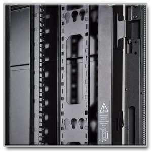 42U Vertical Cable Management Bars