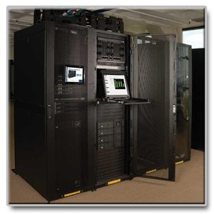 45U Rack Enclosure Optimized for Data Center Applications