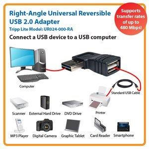 Universal Reversible USB 2.0 Hi-Speed Adapter for Maximum Performance