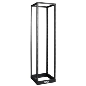 45U 4-Post Open Frame Rack Cabinet Square Holes 1000lb Capacity