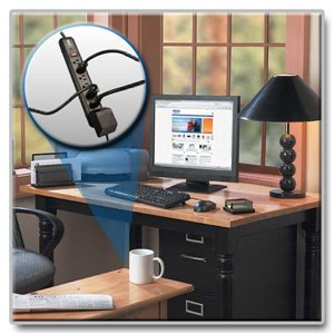 Protection for All Electronics with 7 Outlets, a Lifetime Warranty & $25,000 Insurance