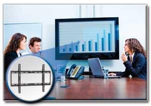 "Display TV LCD Wall Mount Fixed 32"" - 70"" Flat Screen / Panel"