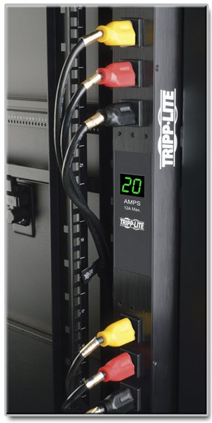 Built-in Digital Meter Provides Visual Monitoring of Single-Phase Power Distribution