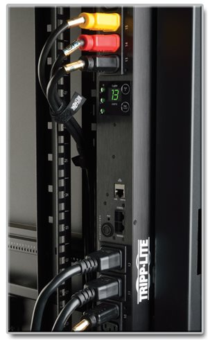 Effective 208/120V 3-Phase Power Distribution with a Digital Meter and Remote Monitoring. 3ft. Cord