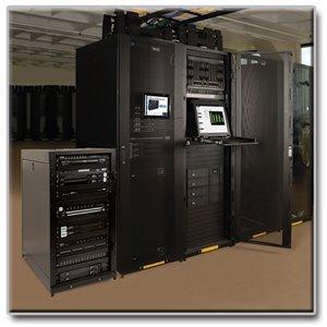 TAA-Compliant, 25U Premium Rack Enclosure Server Cabinet