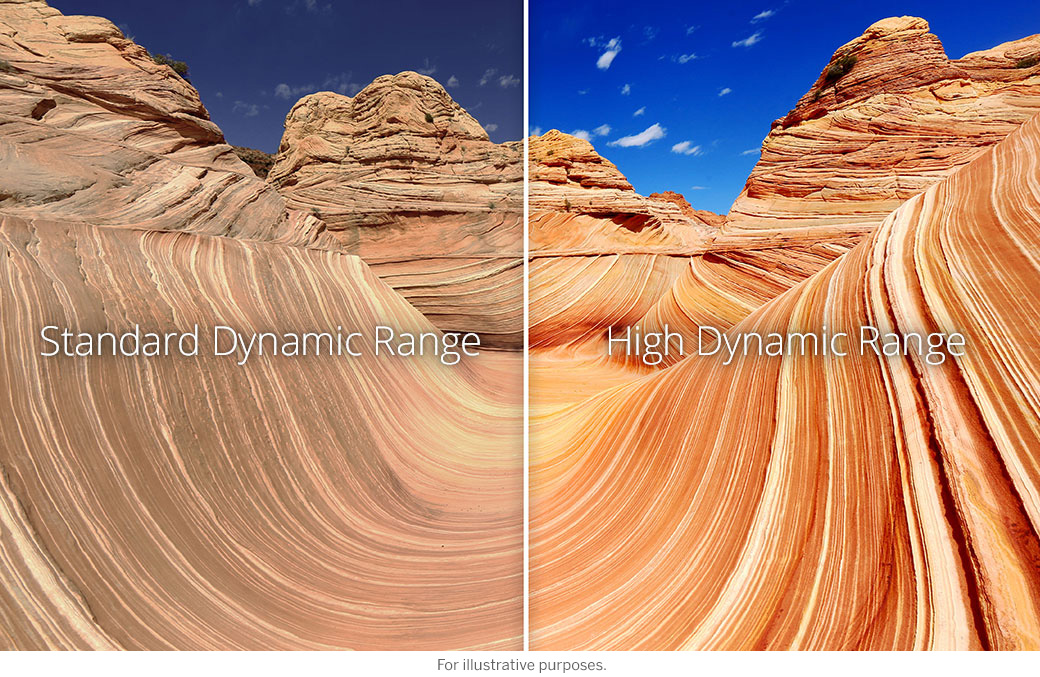 SDR vs HDR