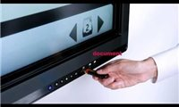 """slide {0} of {1},zoom in, 55"""" Display, 400 cd/m2 Brightness, Interactive All-in-One ePoster"""
