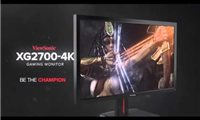 "slide {0} of {1},zoom in, ViewSonic XG2700-4K 27"" 60Hz IPS 4K 2160p FreeSync Gaming Monitor HDMI, DisplayPort"