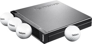 Lenovo ThinkCentre M73 Tiny Desktop: PRODUCTIVE, RELIABLE, AND GREEN.