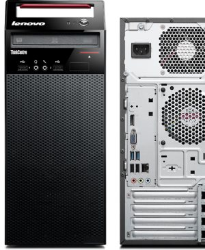 Lenovo ThinkCentre E73 Mini Tower Desktop: POWERFUL, SECURE MINI TOWER PC.