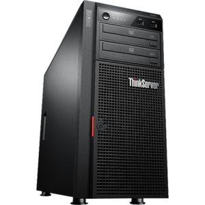 Lenovo ThinkServer TD340 Tower Server: Performance-packed. Enterprise reliability.