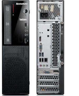 Lenovo ThinkCentre E73 SFF Desktop: SMALL IN SIZE. BIG IN STATURE.