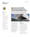 Maricopa Sheriff's Office streamlines 911 response with virtualized desktops
