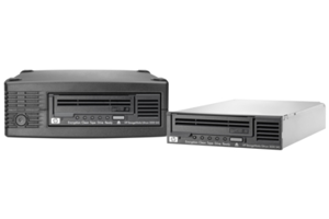 HPE StoreEver LTO-4 Ultrium 1760 SAS (1) in a 1U Rack Mount Kit