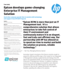 Epicon leverages HP OEM program for IT management solution