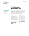 HPE Customers BuildOnProLiant solution brief
