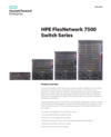 HPE FlexNetwork 7500 Switch Series data sheet