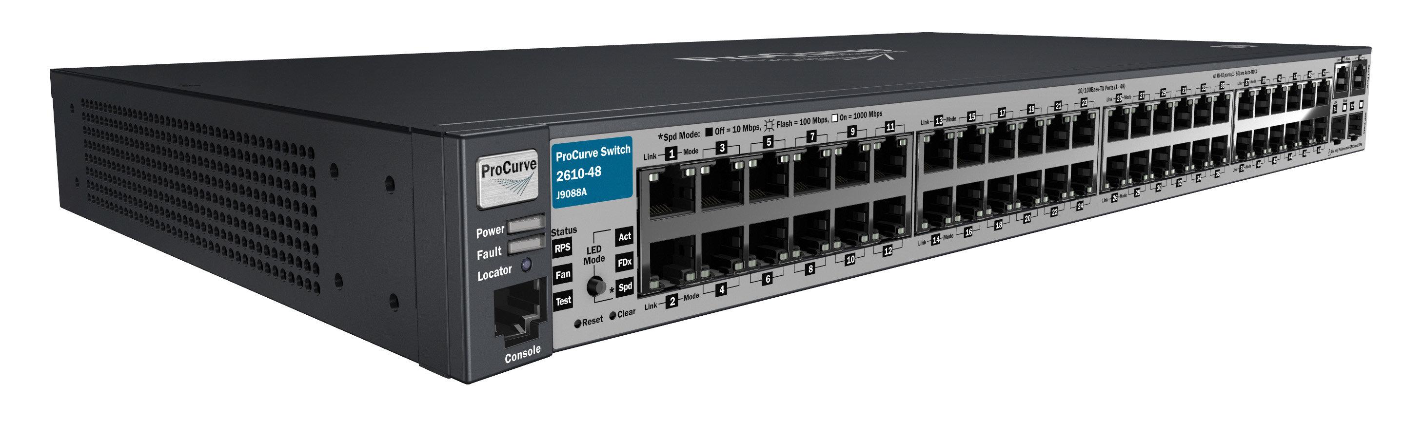HP J9088A ProCurve 2610-48 Managed Switch