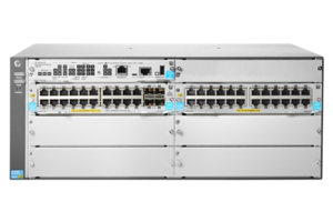 Aruba 5406R 44GT PoE+ and 4-port SFP+ (No PSU) v3 zl2 Switch