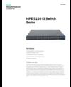 HPE 5120 EI Switch Series data sheet