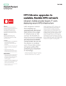 MTS Ukraine upgrades to scalable, flexible HPE network