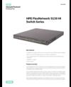 HPE FlexNetwork 5130 HI Switch Series data sheet