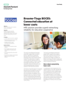 HPE solution provides superb networking reliability for Broome-Tioga BOCES