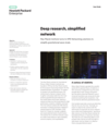 Deep research, simplified network with HPE Networking solutions