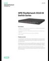 HPE FlexNetwork 5510 HI Switch Series data sheet